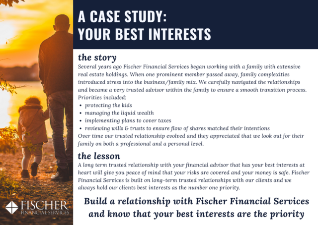 Fischer Financial Case Study Your Best Interests