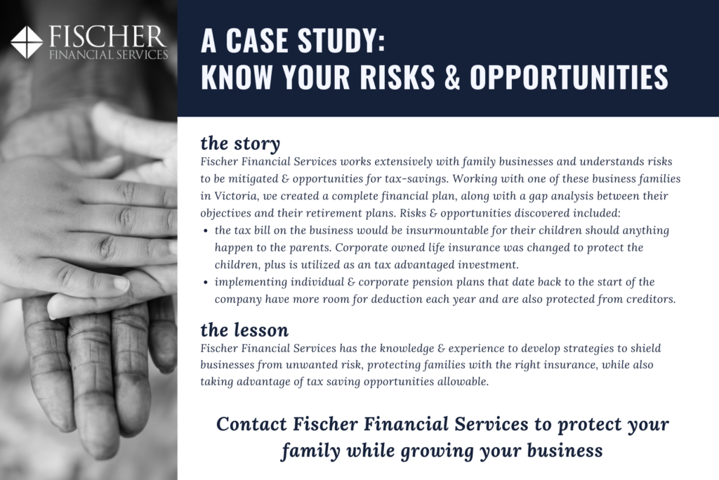 Fischer Financial Case Study Risks and Opportunities